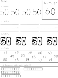 printing and recognizing numbers 1 50 apples and abc u0027s