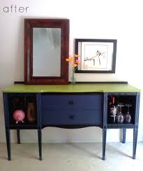 Upholstered Console Table Before U0026 After Console Table Upholstered Chair U2013 Design Sponge