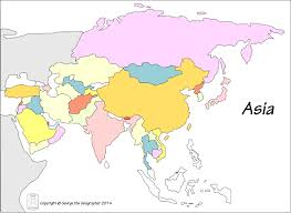Maps Of Southeast Asia by Free Maps Of Asean And Southeast Asia Amazing Asia Map No Labels