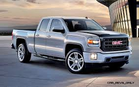 2015 luxury trucks 2015 gmc sierra elevation and carbon editions bring top flight