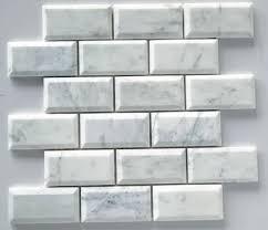 beveled subway tile kitchen backsplash home design ideas