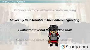 character of tybalt profile traits u0026 analysis video u0026 lesson