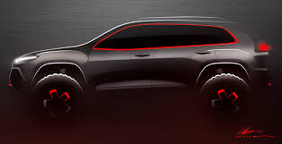 jeep unveils seven new concepts jeep cherokee kl dakar concept vehicle drawing jeep cherokee