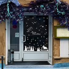 Window Decorations For Christmas by Popular Shop Window Decorations Buy Cheap Shop Window Decorations