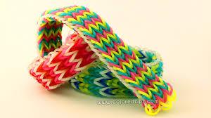 looms bracelet easy images How to make a tripple fishtail rainbow loom bracelet idunn goddess jpg