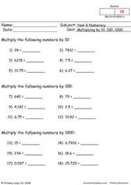 primaryleap co uk negative numbers 1 worksheet