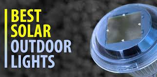 best solar outdoor lights ledwatcher