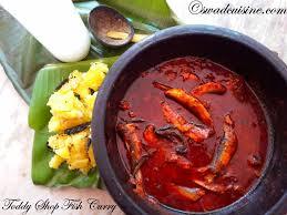 cuisine shop toddy shop fish curry kerala spicy sardine curry kallu shappu