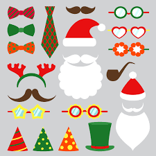 Christmas Photo Booth Props Christmas Party Photo Booth Hire