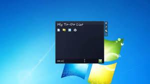 gadget de bureau windows 8 my to do list windows 7 gadget