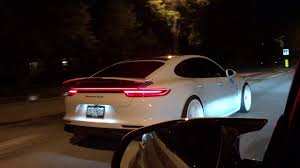 white porsche panamera 2017 porsche panamera turbo with white wheels youtube