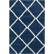 Blue Area Rugs 5x8 by Safavieh Milan Shag Navy 4 Ft X 6 Ft Area Rug Sg180 7070 4 The