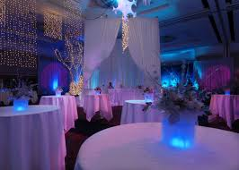 blue wedding reception decoration ideas blue and silver reception