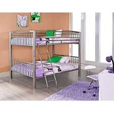 Powell Full Over Full Metal Bunk Bed Multiple Colors Walmartcom - Full bunk bed