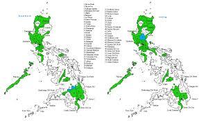 Philippine Map Philippine Map U2013 B U0026w U0027s Adventures