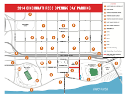 Ball State Parking Map by Great American Ballpark Parking Guide Rates Maps Tips