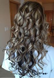 curly hair with lowlights highlights and lowlights with curls hair styles pinterest