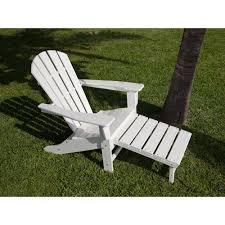 Quality Adirondack Chairs Polywood South Beach Ultimate White Patio Adirondack Chair Hna15wh