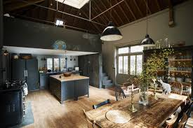 london theater designer niki turner s black and gray kitchen in a