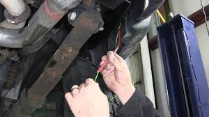 installation of a trailer wiring harness on a 2006 hummer h3