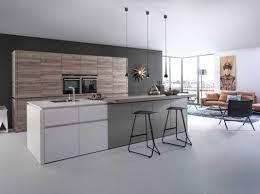 cuisine laqu cuisine bois et blanc laqu amazing agrandir des meubles de gris