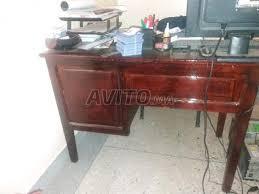 bureau en bois a vendre bureau en bois original à vendre à dans meubles et décoration avito ma