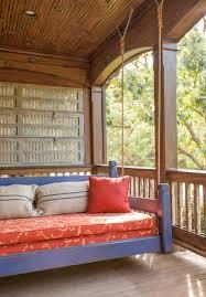 bedroom rustic porchcool outdoor patio ideas with hanging swing
