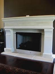 white precast concrete fireplace surround www vestaprecast com