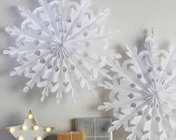 hanging snowflake etsy