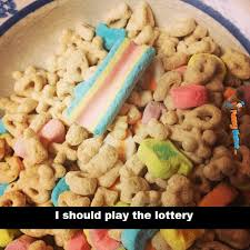 Lucky Charms Meme - funny memes huge marshmallow lucky charms lol pinterest