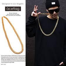 long gold link necklace images Abjcoin decentralized marketplace punk 100cm long miami cuban jpg