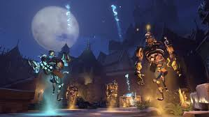 reaper background overwatch halloween overwatch halloween event new skins new brawl the escapist