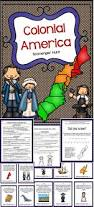 13 colonies activity scavenger hunt middle southern and