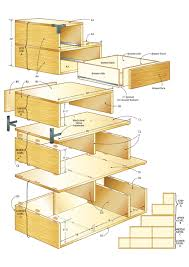 Dvd Holder Woodworking Plans by Build A Tansu Chest Making A House A Home Pinterest
