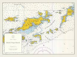 map of the bvi islands map bvi 1962