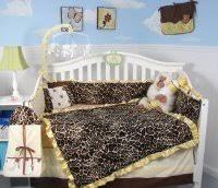 Cheetah Print Crib Bedding Set Animal Print Baby Bedding For The Nursery