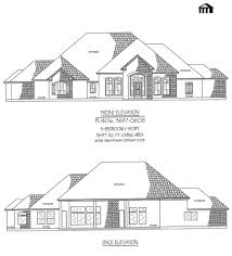 large 1 story house plans plan no 3697 0608