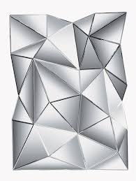 Designer Couchtisch Glas Prisma Kare 74897 Spiegel Prisma 140 X 105 Cm Amazon De Küche U0026 Haushalt