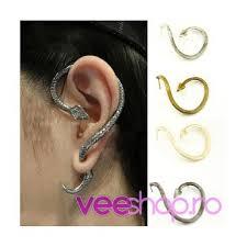 piercing ureche cercei tip ear cuff sarpe piton incolacit prindere dubla pe