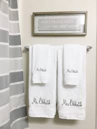newlywed gift monogrammed towel wedding gift newlywed gift personalized