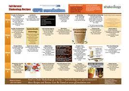 fall harvest shakeology recipes 28 day calendar gf2 revolution