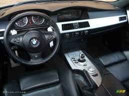 M5 Interior Black Interior 2006 Bmw M5 Standard M5 Model Photo 51093734