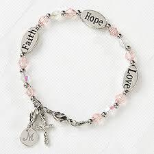 personalized bracelet faith child s personalized bracelet