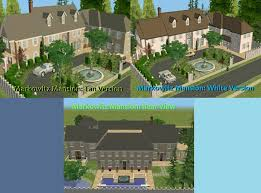 one story mansions mod the sims the stepford project iii 3 mansions by d d i