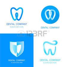 dental templates abstract vector teeth signs a set of dental