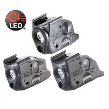 compact tactical light with aiming laser tlr 4