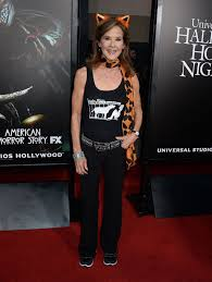 linda blair at halloween horror nights opening in universal city
