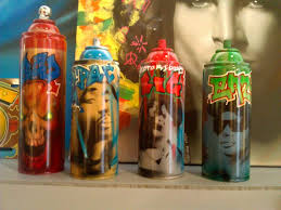 Do It Spray Paint - from cars to spray paint cans las cruces artist luis navarro can