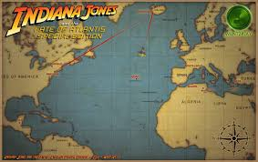 Atlantis Map Indiana Jones And The Fate Of Atlantis Special Edition More