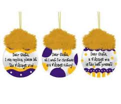 minnesota vikings 3 pack vikings sayings ornament